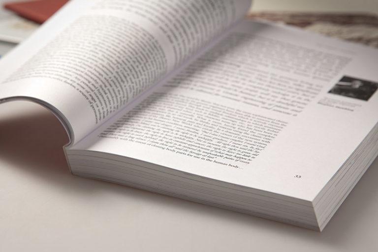 Editoria - Pagine di libro
