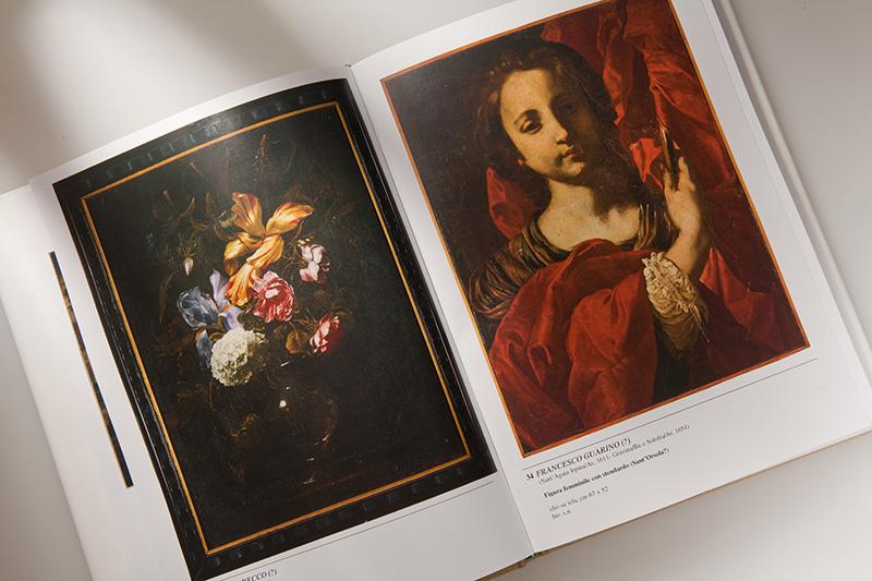 Legatoria - Particolare di catalogo d'arte